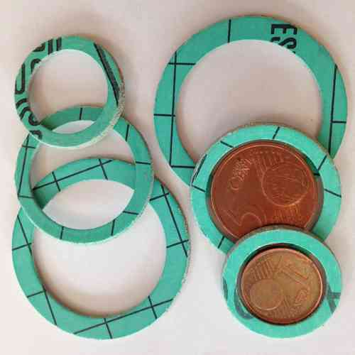1 pair of sealing gasket for heat and water meters
