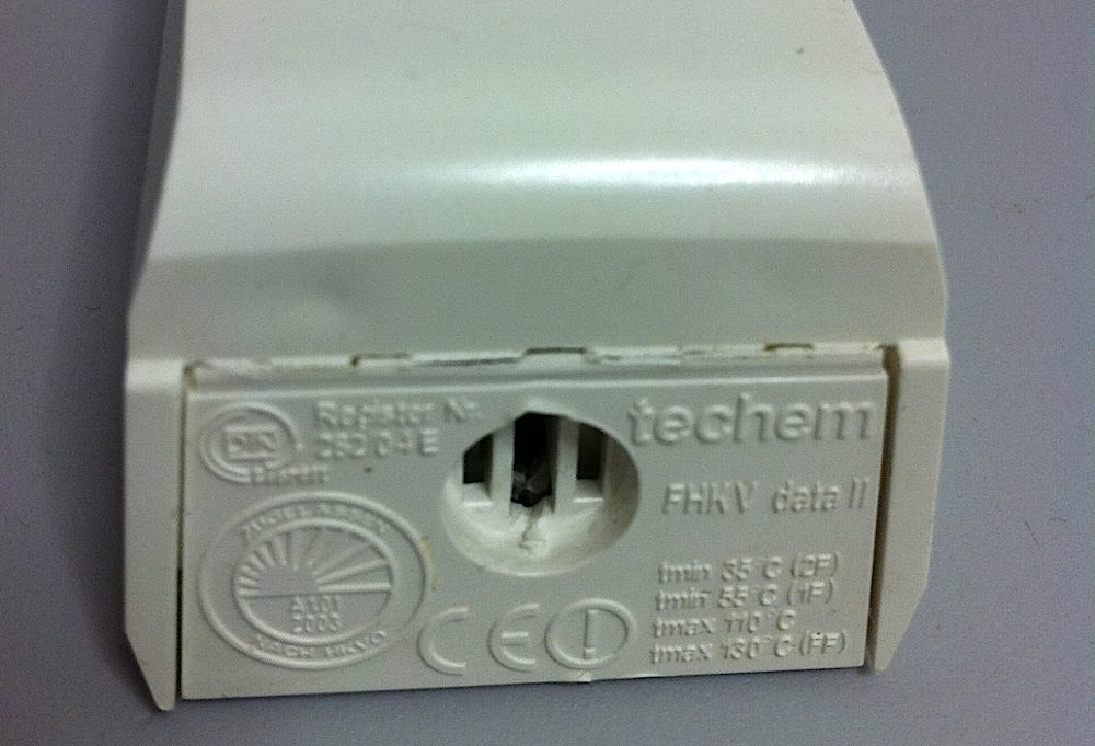 Techem thermostat