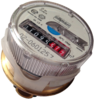 USED ALLMESS UP-6000 MK WATER METER (AMES ITRON CONCEPT)