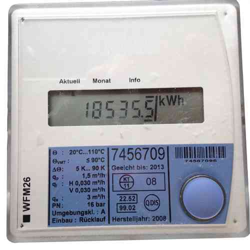 heat meter KUNDO QUNDIS QVEDIS WFM-26, different versions