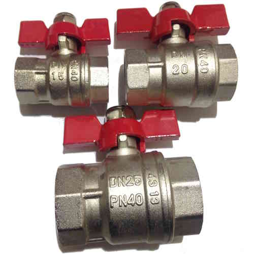 "ball valve 1/2"" 3/4"" 1"" inch internal thread both sides"