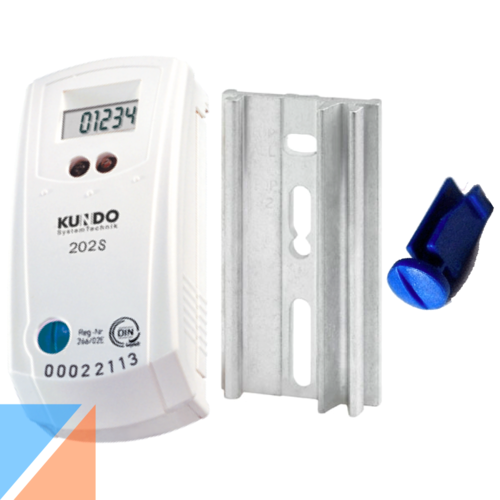 KUNDO 202S - electronic heat cost allocator - reconditioned