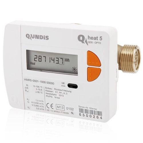 Heat Meter QUNDIS Qheat 5 Qn 0,6 1,5 and 2,5 Ø5,2mm validation 2020