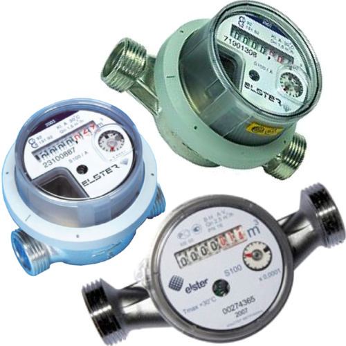 USED - water meter 80 110 130mm Qp 1,5 & 2,5
