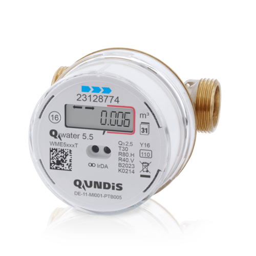 mechanical water meter 80 110 mm Qp 1,5 Q3=2,5, validation 2021